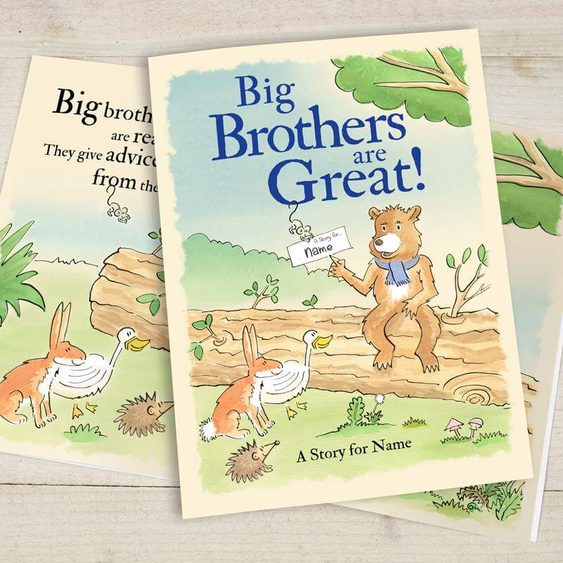 Personalised Big Brothers Are Great Book