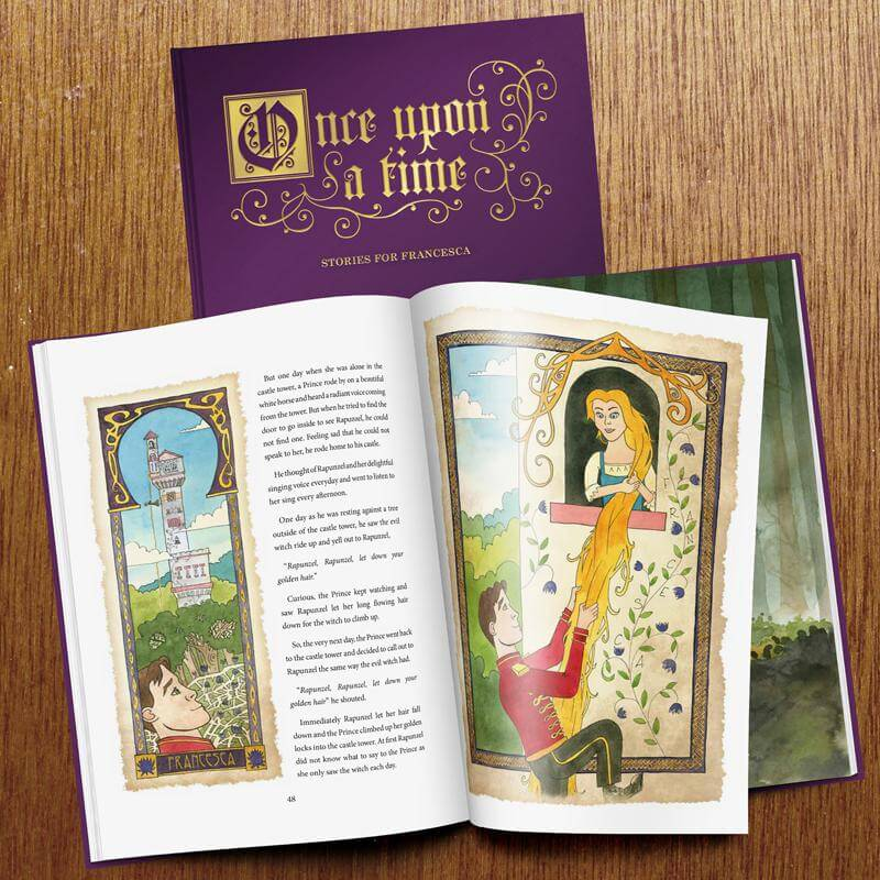 Personalised Deluxe Personalised Fairy Tale Book