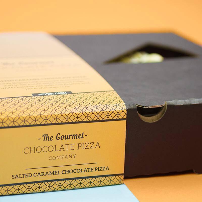 "Salted Caramel Chocolate Pizza - 7"""