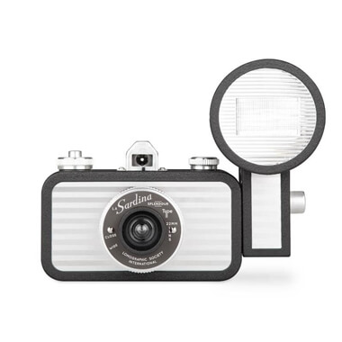 Lomography La Sardina and Flash Splendor Camera