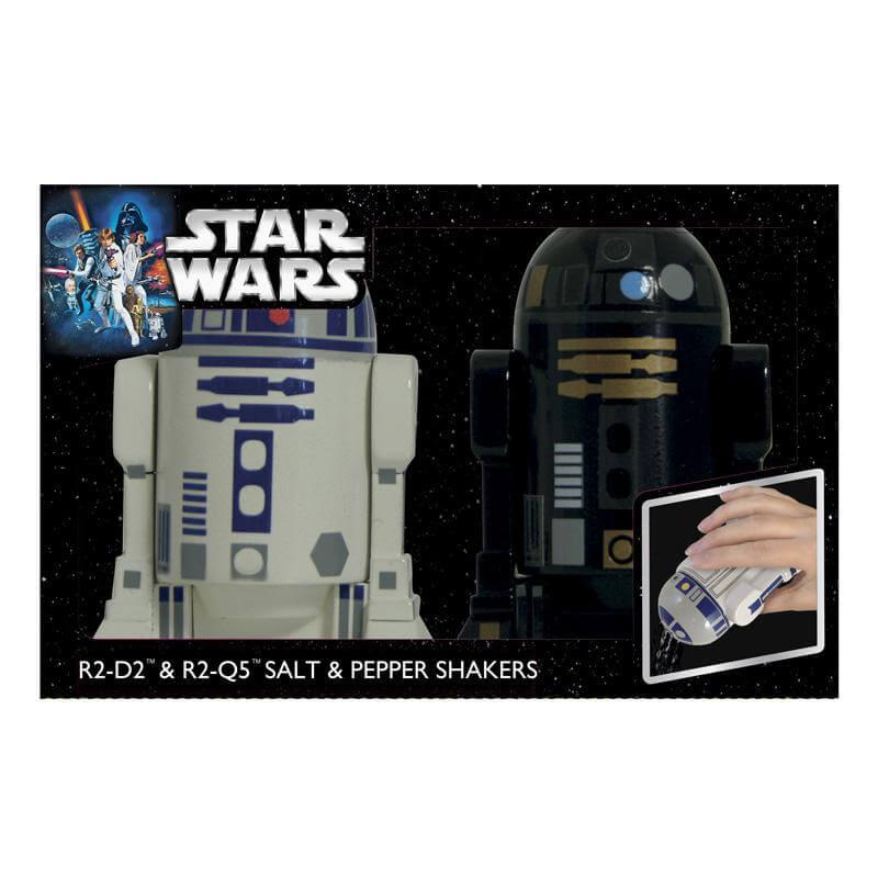 Droid Salt & Pepper Shakers