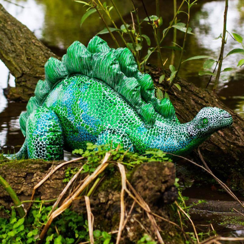 Inflatable Stegosaurus