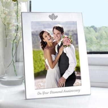 Diamond Anniversary Photo Frame