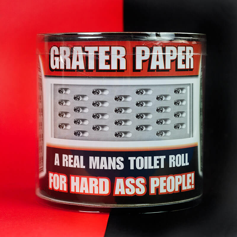 Cheese Grater Loo Roll