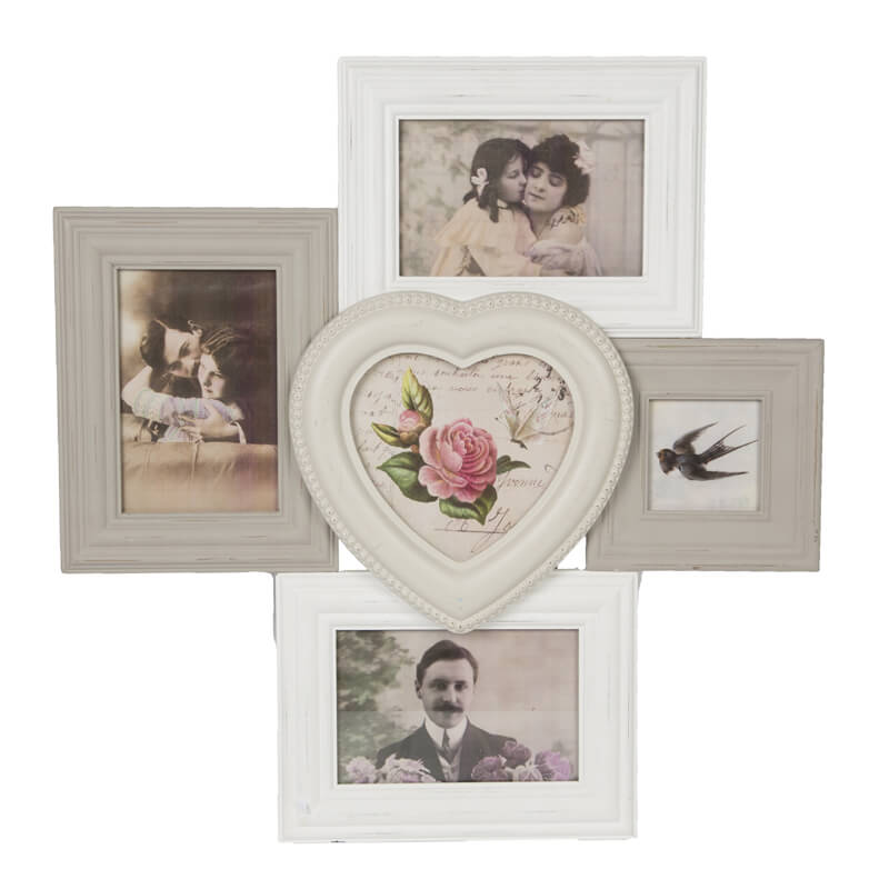 Celeste Heart Multi Photo Frame