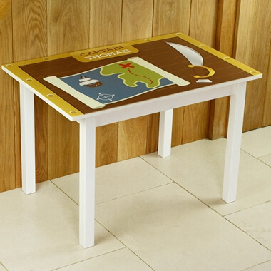 Personalised Pirate Table