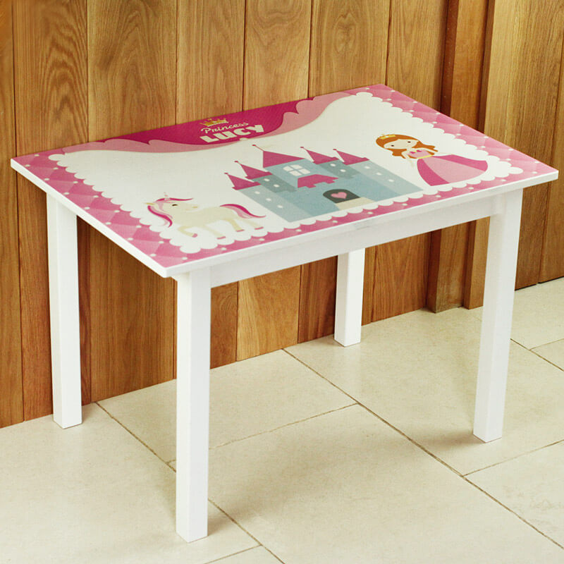 Personalised Princess Table