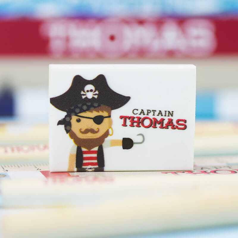Personalised Pirate Stationery Pack