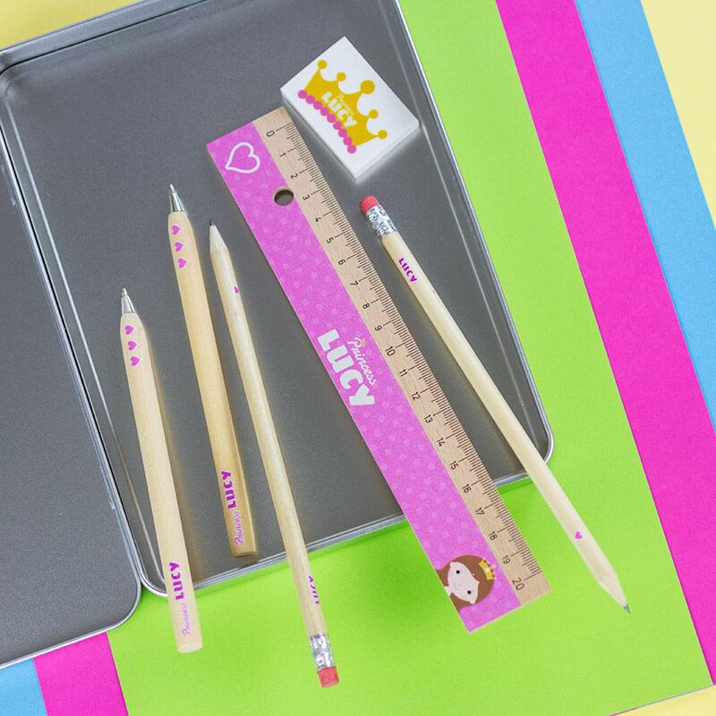 Personalised Princess Stationery Set