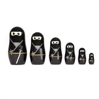 Ninja Nesting Dolls
