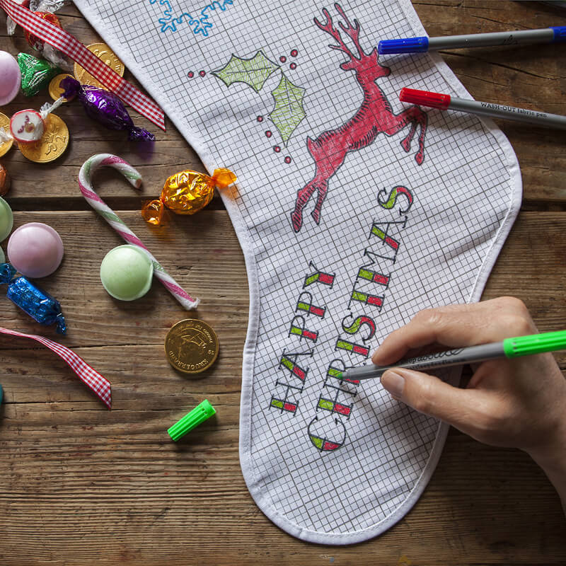 The Doodle Christmas Stocking
