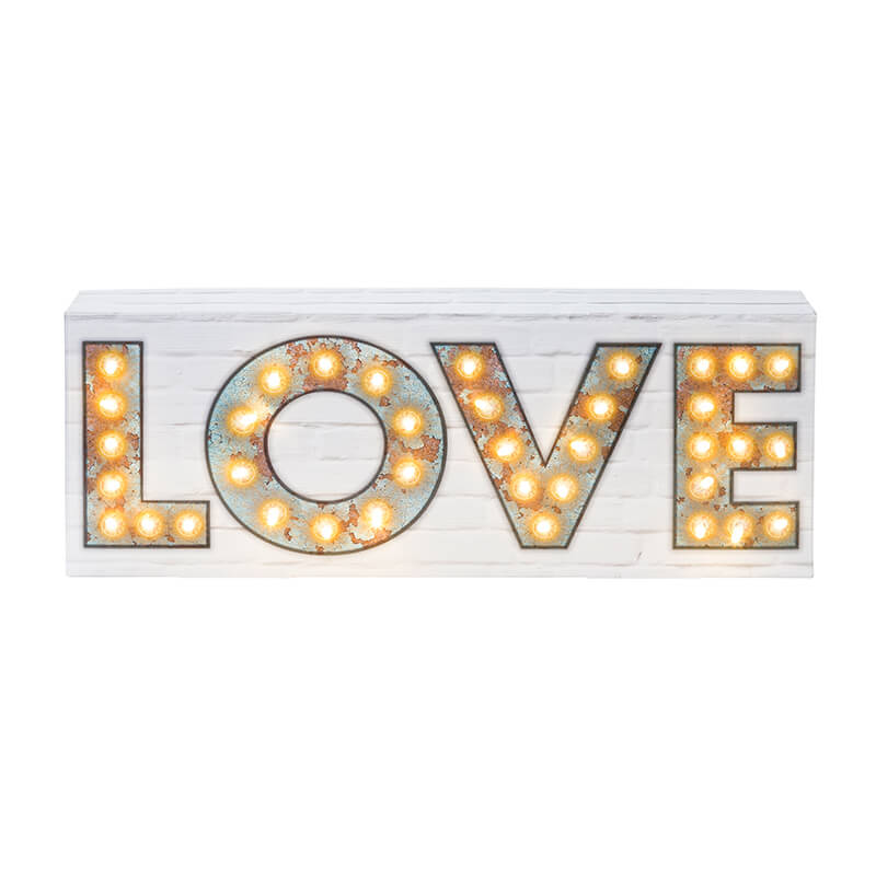 LED Love Sign