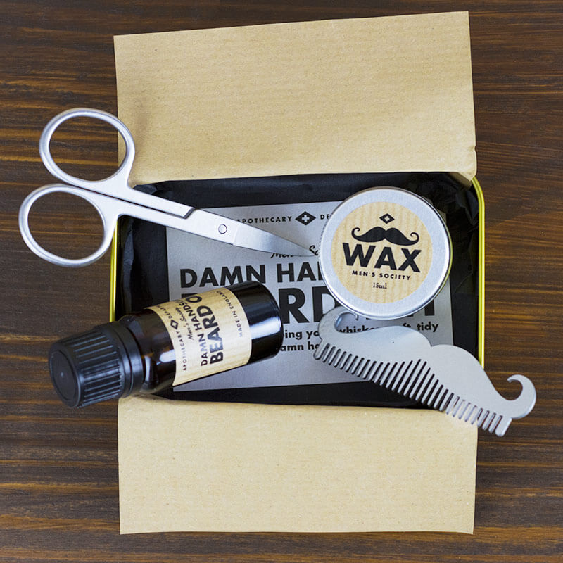 damn handsome beard grooming kit buy from. Black Bedroom Furniture Sets. Home Design Ideas