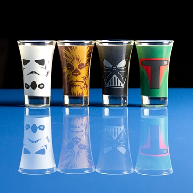 Star Wars Shot Glasses - Set Of 4