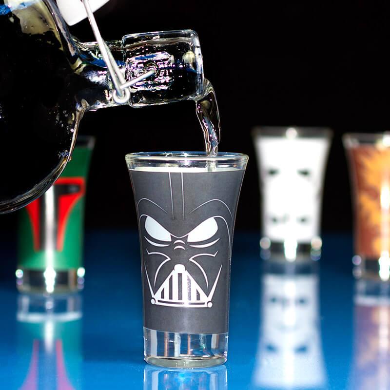 Star Wars Shot Glasses - Set Of 4
