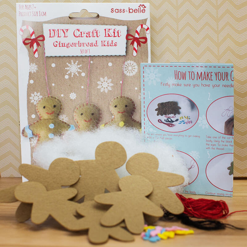 Do It Yourself Gingerbread Man Kit