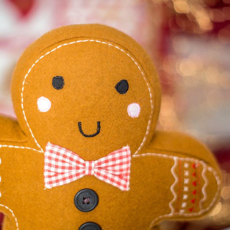 Gingerbread Man Cushion