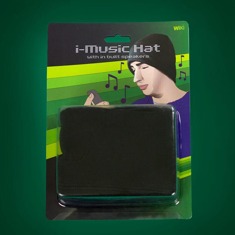 iHat - MP3 Headphone Hat
