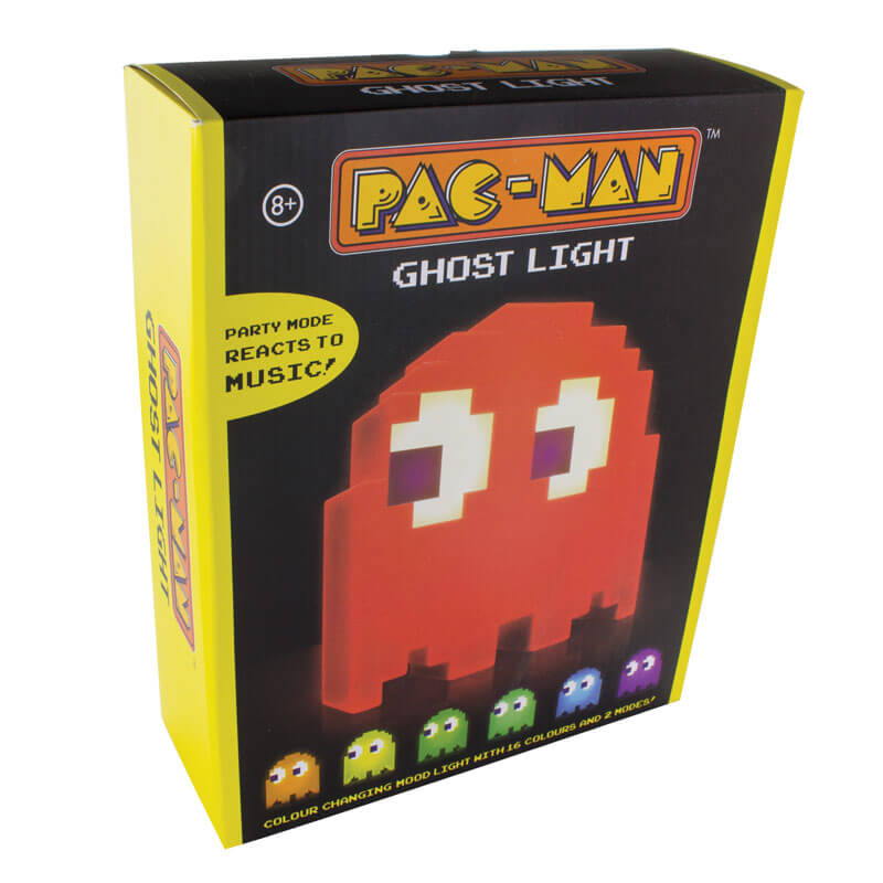 Pac Man Colour Changing Ghost Lamp