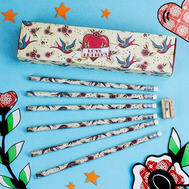 Tattoo Pencil Gift Set