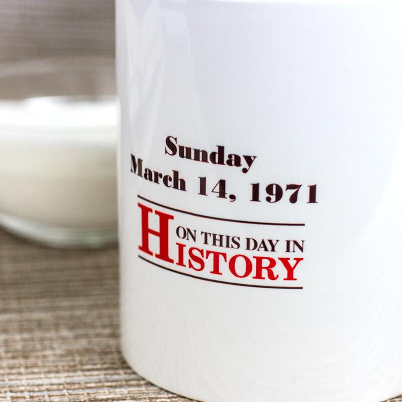 Personalised Front Page Newspaper Mug