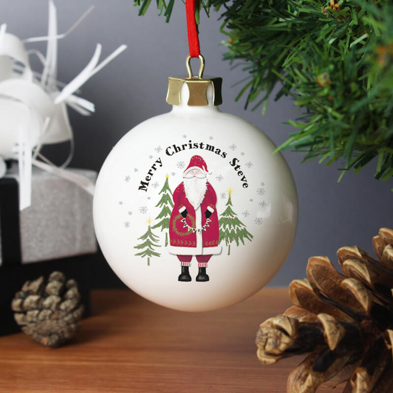 Father Christmas Bauble - Buy from Prezzybox.com