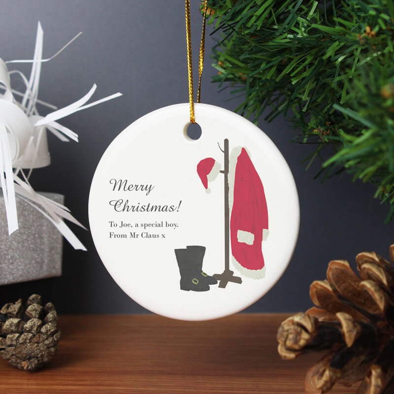 Personalised Santa's Home Decoration