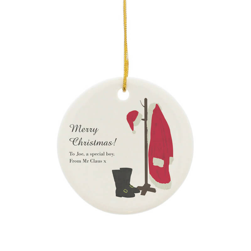 Personalised Santa's Home Decoration