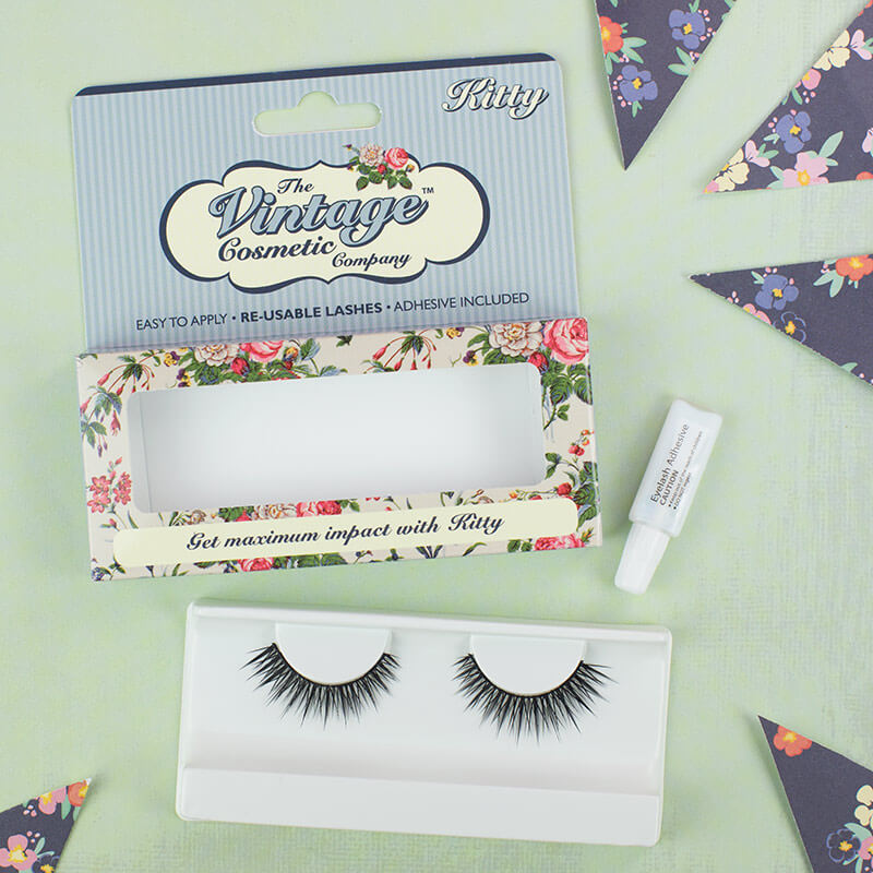 Kitty False Eyelashes  Strip Lashes