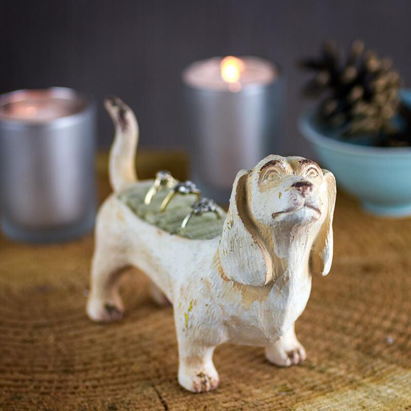 Dog Ring Holder