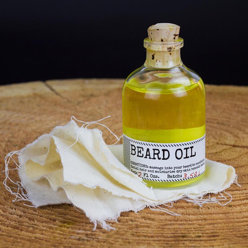 Botanist Beard Oil and Face Rag