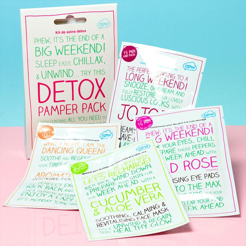 Detox 4 Sachet Pamper Pack