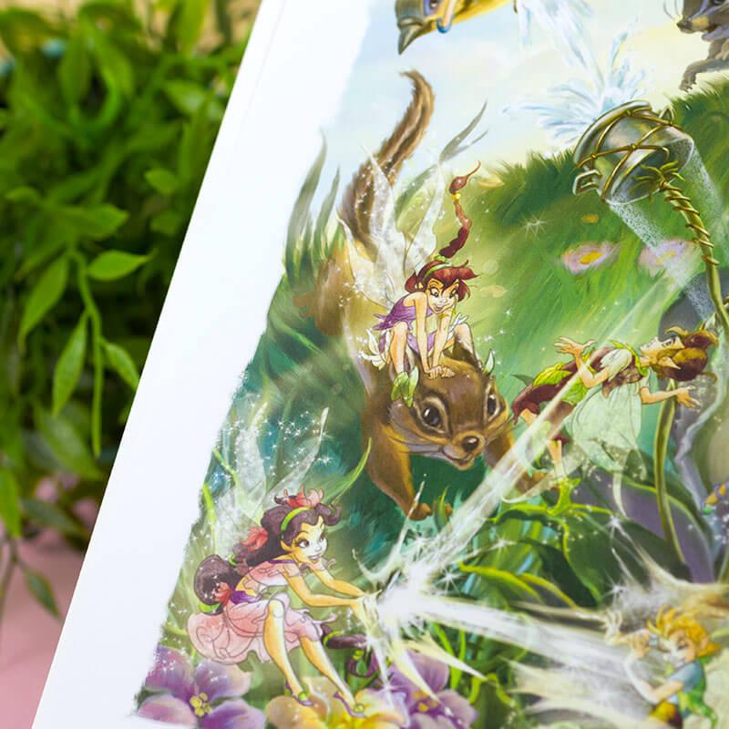 Personalised Disney Fairies Book