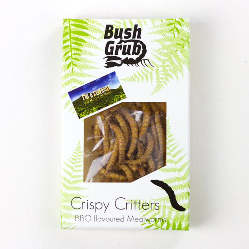 BBQ Mealworm Crispy Critters