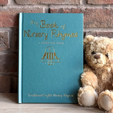 Personalised Nursery Rhymes Book - Hardback