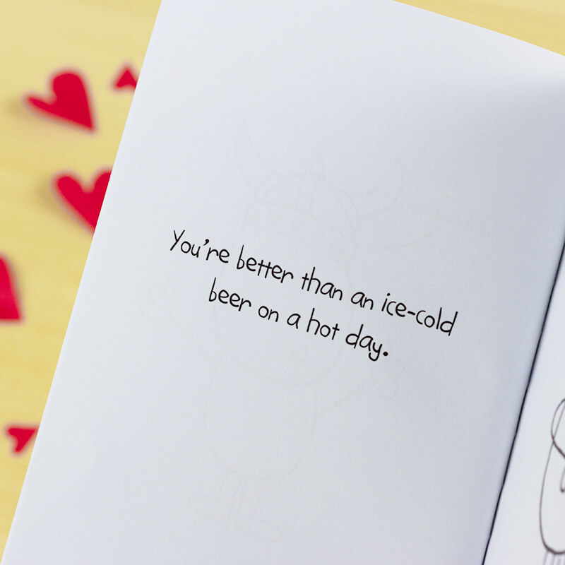 Chilli & Bubble's Personalised Book of Love - For Her