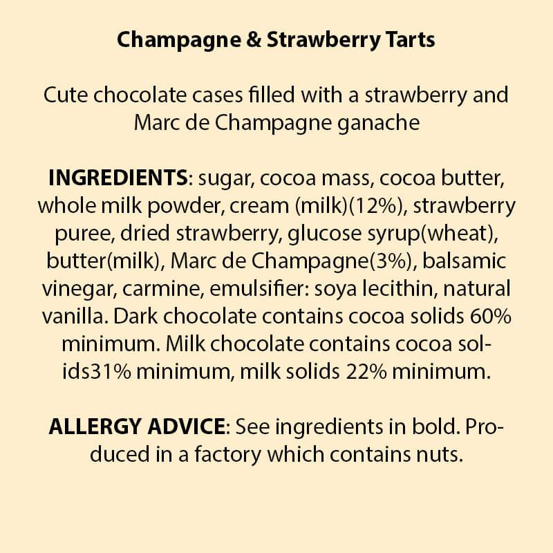 Marc de Champagne & Strawberry Truffles
