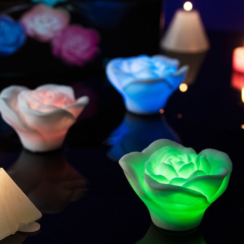 Floating Rose Bath Lights - Buy from Prezzybox.com