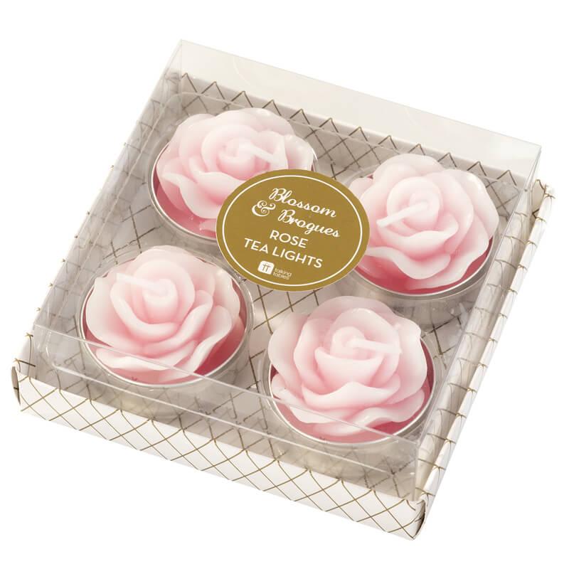 Blossom Rose Tea Lights