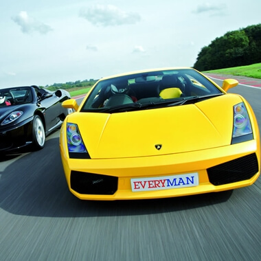 Ferrari and Lamborghini Driving Thrill