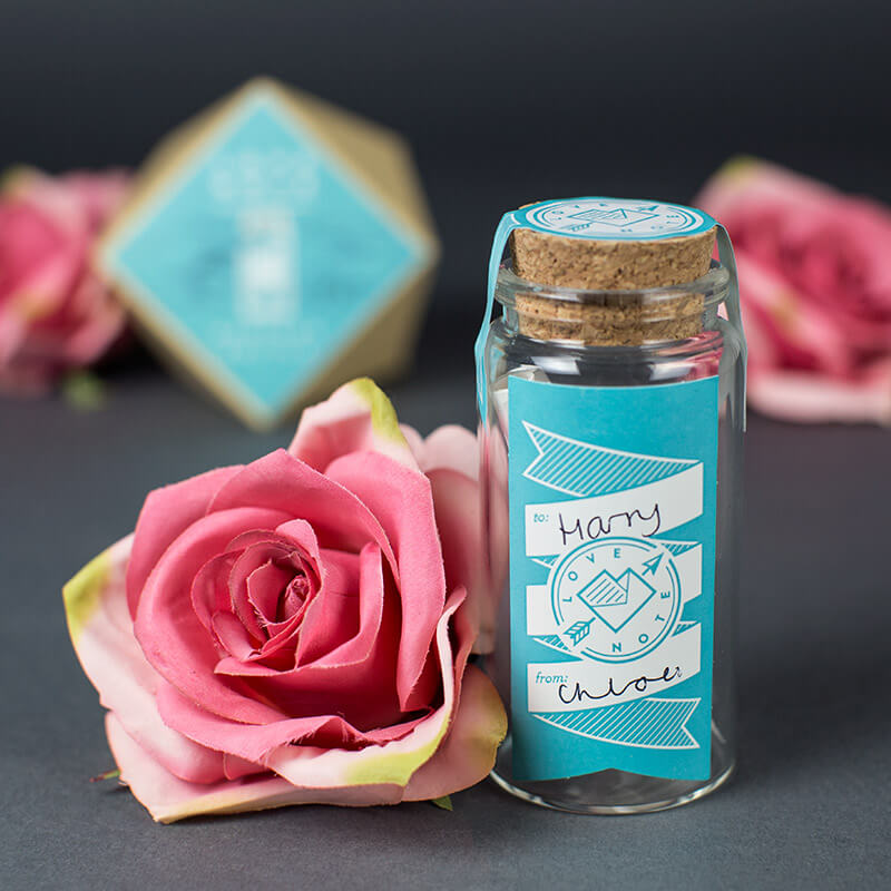Love Note Message In a Bottle