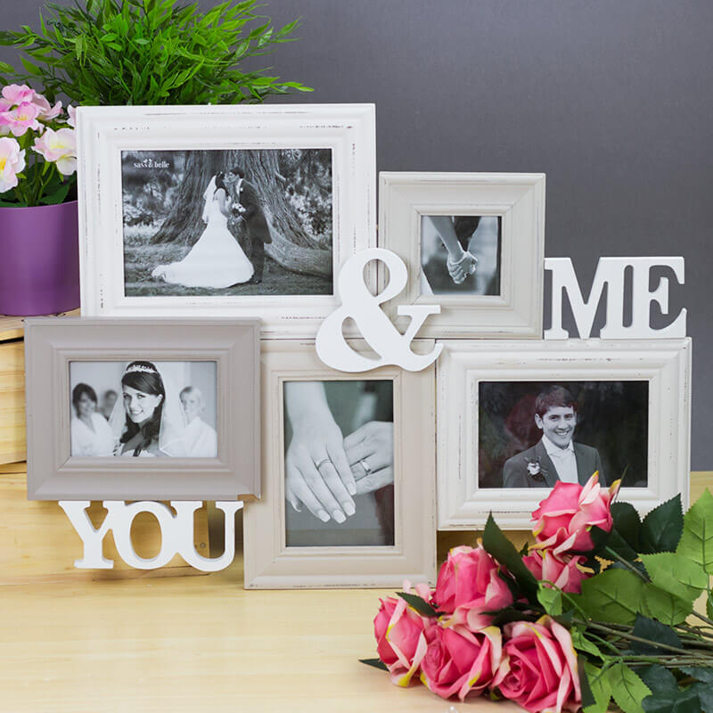 Me & You Collage Photo Frame