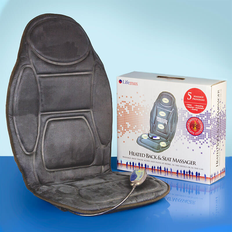 Heated Back & Seat Massager