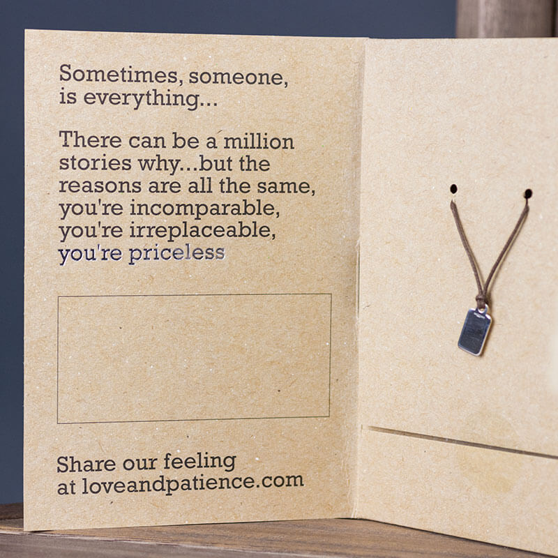 You're Priceless Necklet - Male