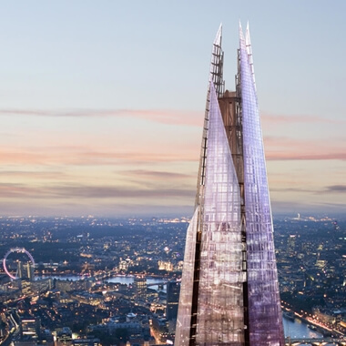 The View from The Shard for Two