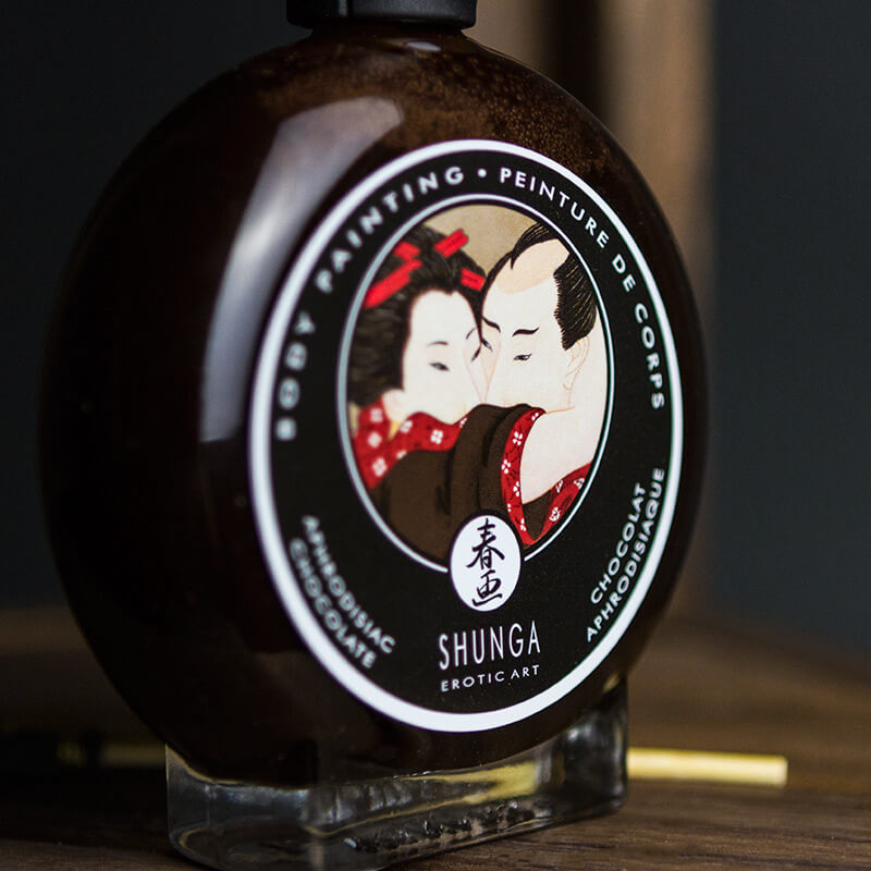 Shunga Edible Body Paint - Aphrodisiac Chocolate