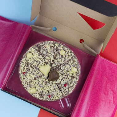 Lovers Chocolate Pizza - 7""