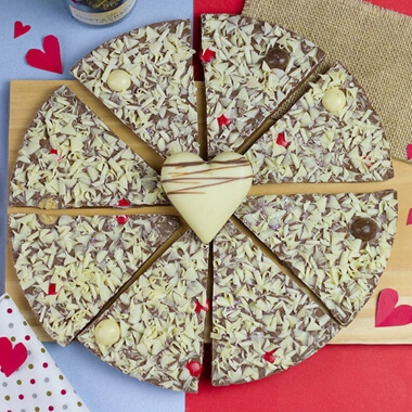 """Lovers Chocolate Pizza - 10"""""""