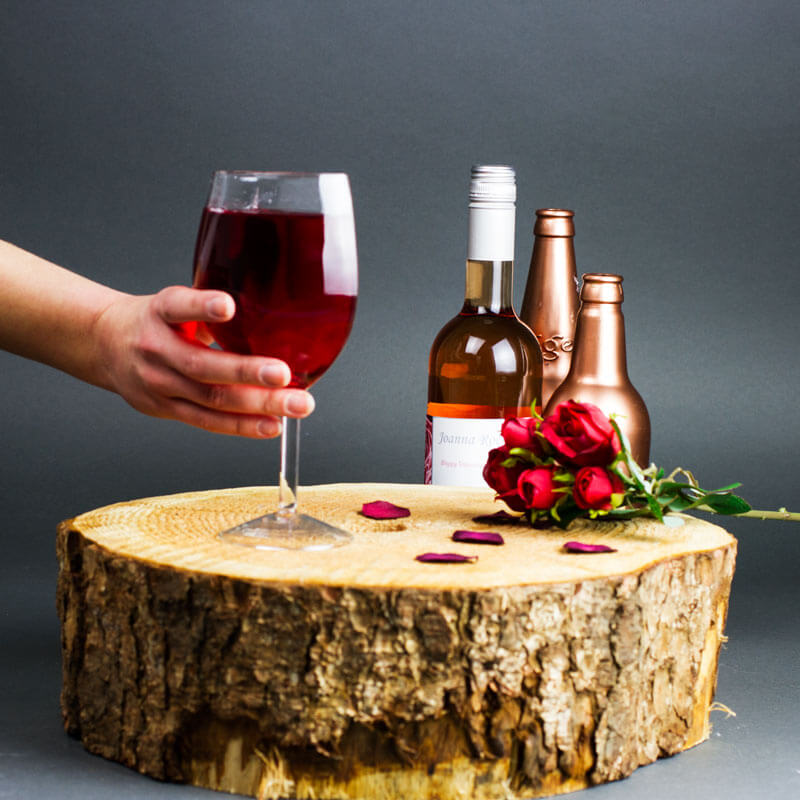 Halfcut Wine Glass
