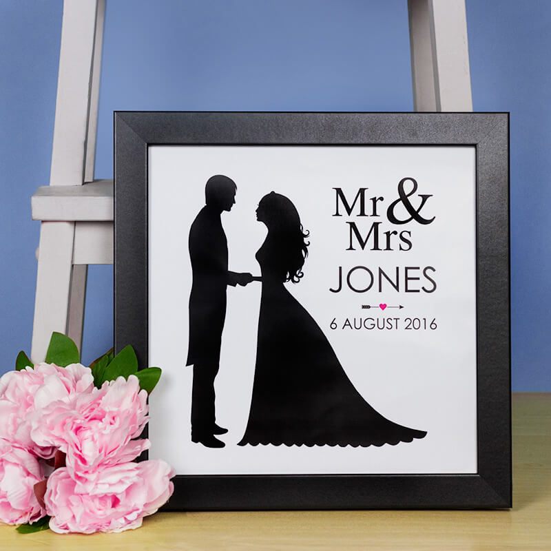 Personalised Mr & Mrs Print